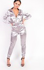 Kourtney Satin Stripe Tracksuit Thumbnail