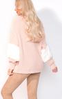 Anna Faux Fur Sleeve Knitted Jumper  Thumbnail