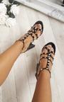 Miley Studded Patent Block Heels Thumbnail