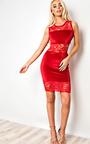 Karis Lace Bodycon Dress Thumbnail