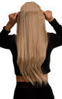 Intense Volume Clip In Hair Extensions - Flicky Honey Blonde Thumbnail
