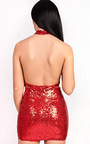 Kendal Sequin Bodycon Dress Thumbnail