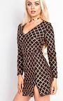 Joelle Sequin Bodycon Dress Thumbnail