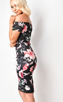Roxy Floral Midi Dress Thumbnail