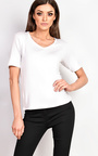Loretta Basic V-neck T-shirt Thumbnail