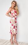 Mardelle Floral Midi Dress Thumbnail