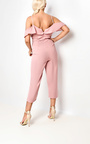 Aleah Cold Shoulder Frill Jumpsuit Thumbnail