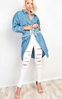 Aguilera Slit Ripped Skinny Jeans Thumbnail