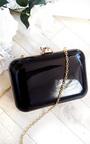 Elena Shiny Mirror Effect Clutch Bag Thumbnail