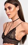 Emrezy Black Lace Bralet Thumbnail
