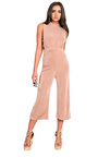 Verity Slinky Culotte High Neck Jumpsuit Thumbnail