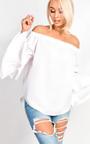 GiGi Bardot Bell Sleeve Top  Thumbnail