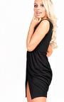 Kora Gathered Wrap Bodycon Dress Thumbnail