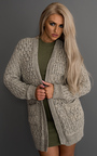 Polly Oversized Loose Knit Cardigan Thumbnail