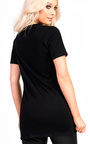 Sian Slogan Longline T-Shirt  Thumbnail