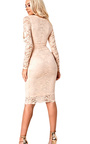 Faith Lace Cut Out Bodycon Dress Thumbnail