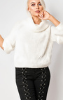 Maritza Off Shoulder Oversized Jumper Thumbnail