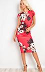 Alana Floral Bodycon Dress Thumbnail