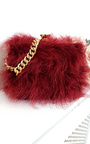 Lyla Feather Shoulder Bag Thumbnail