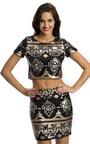 Maisie Sequin Mini Skirt Thumbnail