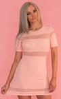 Briella Mesh Stripe Dress Thumbnail