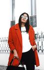 Kayli Boucle Collar Button Coat Thumbnail