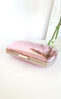 Kelly Metallic Mirror effect Clutch Bag Thumbnail
