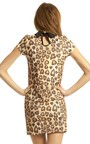 Rosa Leopard Tea Dress Thumbnail