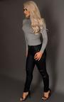 Zariah Faux Leather Jeans Thumbnail
