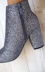 Solange Glitter Ankle Boots Thumbnail