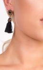 Valenciaga Tassel Jewel Earrings  Thumbnail