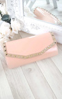 Nelly Studded Envelope Clutch Bag Thumbnail