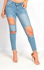 Luma Skinny Ripped Jeans Thumbnail