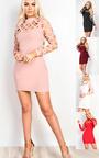 Esme Cut Out Bodycon Dress Thumbnail