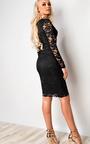 Faith Lace Cut Out Bodycon Dress Thumbnail