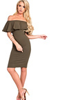 Kiara Bardot Bodycon Dress Thumbnail