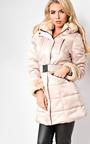 Yasmin Padded Faux Fur Jacket Thumbnail