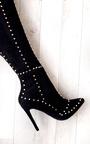 Shia Studded Thigh High Boots  Thumbnail