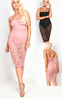 Roselyn Lace Bodycon Dress Thumbnail