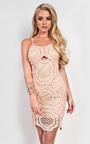 Abia Crochet Bodycon Dress Thumbnail