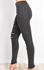 Alisiah Ripped Skinny Jeans Thumbnail