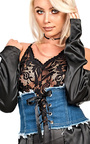 Dana Lace Up Corset Belt Thumbnail