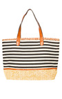 Delilah Stripe Beach Bag Thumbnail