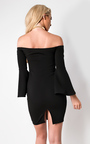 Gwen Off Shoulder Bodycon Dress Thumbnail