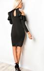 Niki Frill Bodycon Dress Thumbnail