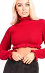 Kara Knitted Cropped Jumper Thumbnail