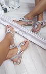 Olivia Embellished Wedge Sandals Thumbnail