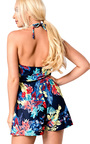 Aby Floral Playsuit Thumbnail