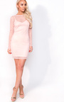 Robyn Polka Dot Mesh Dress Thumbnail