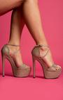 Manda Cross Over Glitter Platform  Thumbnail